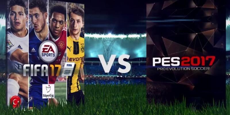 FIFA 17 mi PES 2017 mi?