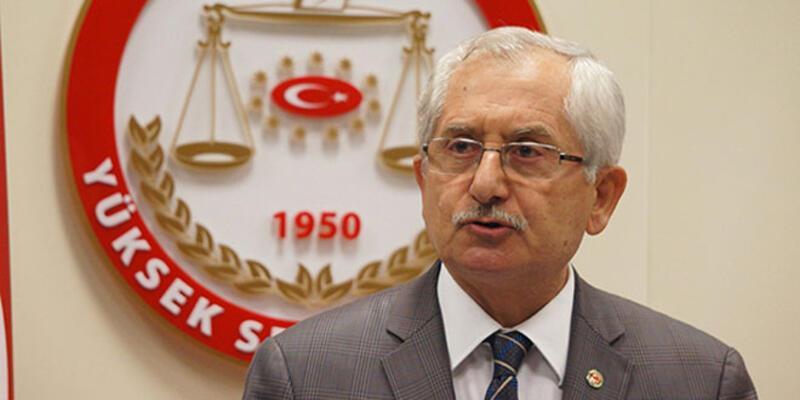 YSK Başkanı'dan referandum açıklaması