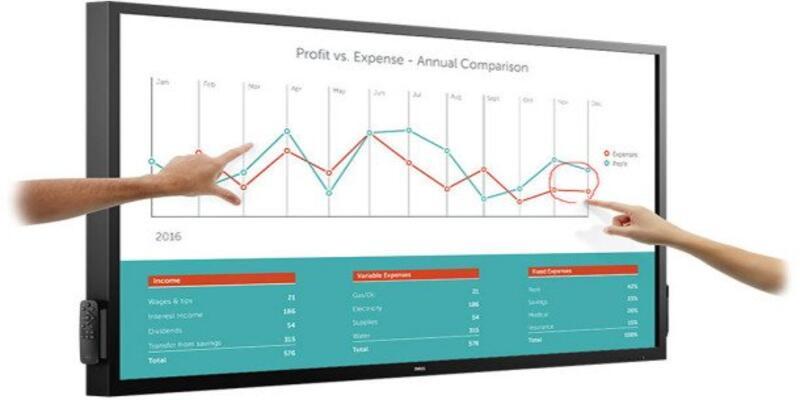 Dell'den interaktif tahta