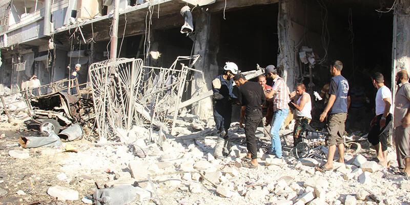 Halep'te yerleşim yerine saldırı: 16 ölü, 25 yaralı