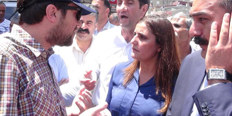 Doğubeyazıt'ta HDP'li vekillerle emniyet amiri arasında tartışma çıktı