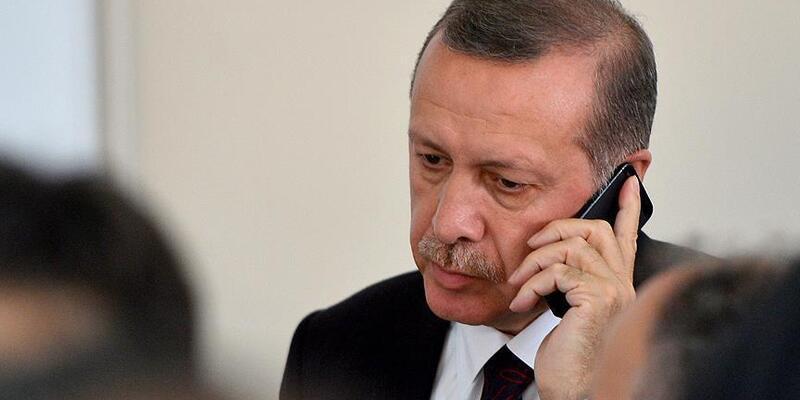 Son dakika... Cumhurbaşkanı Erdoğan, Ruhani ile telefonda görüştü