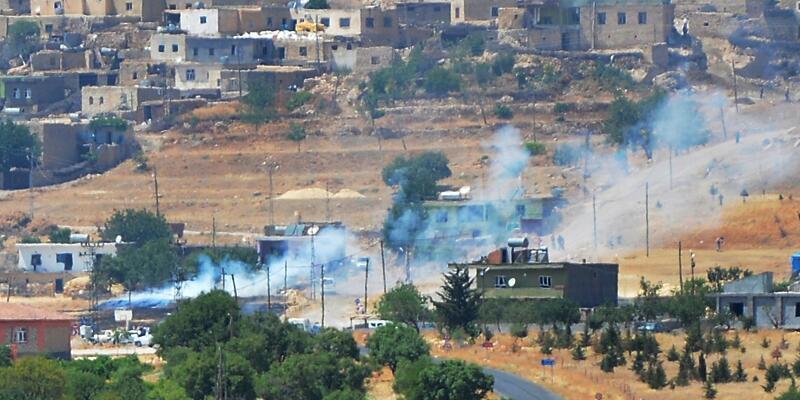 Mardin'de jandarma karakoluna saldırı