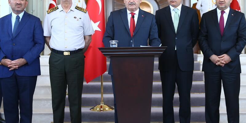 Başbakan Binali Yıldırım'dan darbe girişimi sonrası açıklama