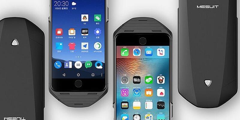 iPhone'da Android çalıştırın!