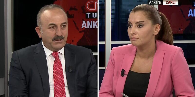 Dışişleri Bakanı Mevlüt Çavuşoğlu CNN TÜRK'te