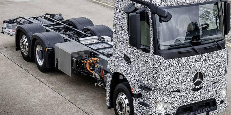 Dünyanın ilk elektrikli kamyonu