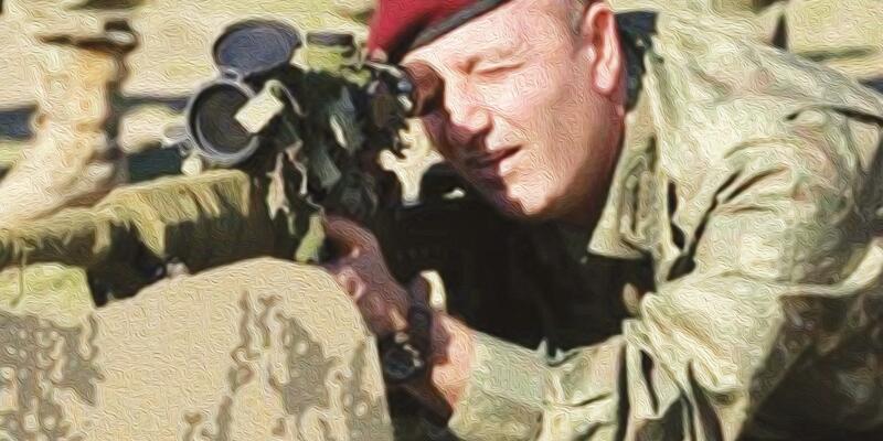 Özel Kuvvetler Komutanı'nı öldürmek için bir hafta pusuya yatmış