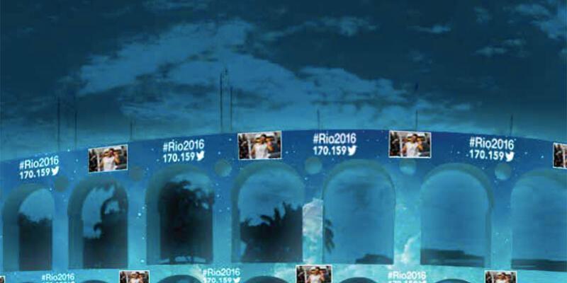 Twitter'ın Türkiye için olimpiyat 'hashtag'i