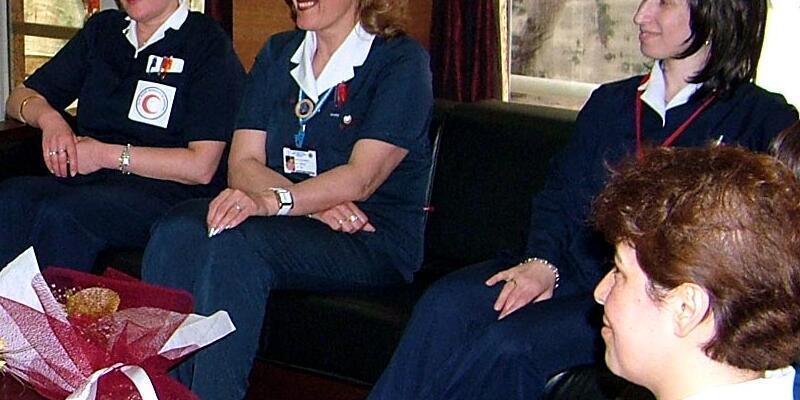 'Peruklu hemşire' FETÖ'den gözaltında