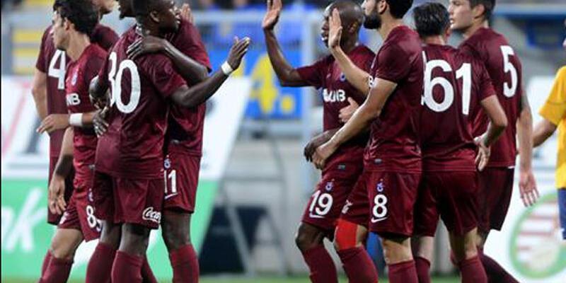 Onazi ve Castillo'lu Trabzonspor rahat kazandı: 2-0