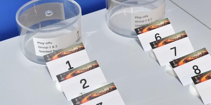 UEFA Avrupa Ligi play off eşleşmeleri belli oldu
