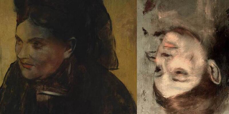 Degas'ın tablosunun altından başka bir portre çıktı