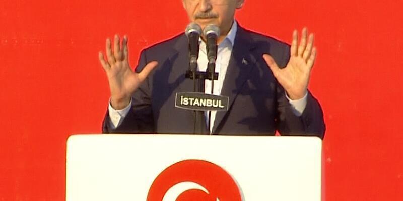 Kılıçdaroğlu Yenikapı'da konuştu: 15 Temmuz bir uzlaşma kapısı araladı