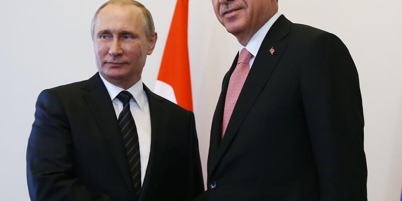 Cumhurbaşkanı Erdoğan ile Putin arasında tarihi görüşme