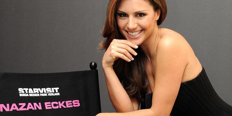 Nazan Eckes Playboyun güzel sunucular listesinde 4. sırada