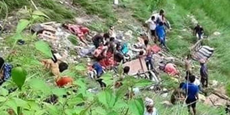 Nepal'de feci kaza, çok sayıda ölü var