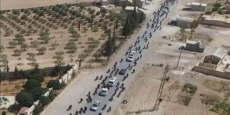 IŞİD, Menbiç'i böyle terk etti