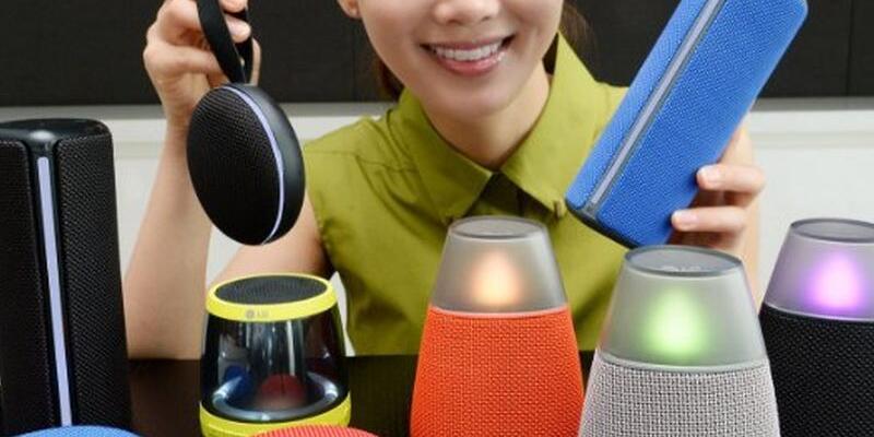 LG, yeni Bluetooth hoparlörlerini duyurdu