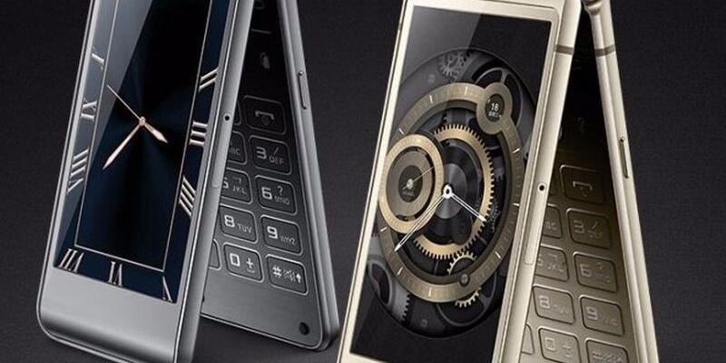 Samsung kapaklı telefon ile geliyor