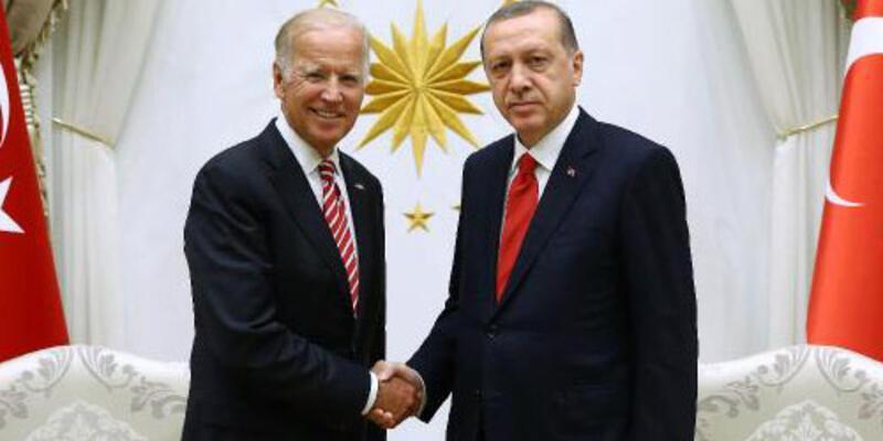 Erdoğan ile Joe Biden görüştü