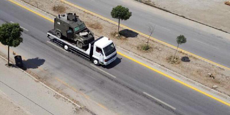 Asker ve polis araçları çarpıştı: 4 yaralı