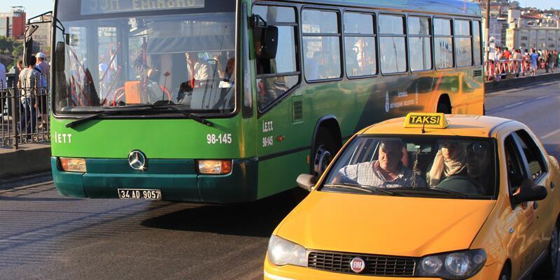 İstanbullular dikkat! Servis, taksi, minibüs, dolmuş ücretleri arttı