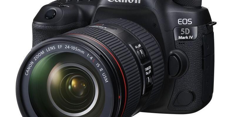 Canon EOS 5D Mark IV tanıtıldı