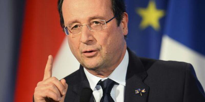 Fransa Cumhurbaşkanı Hollande'dan 'Türkiye' açıklaması