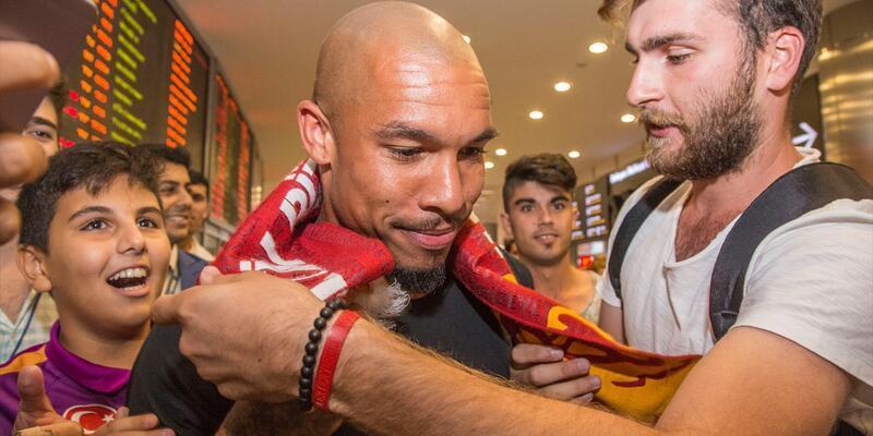 Galatasaray'ın istediği Nigel de Jong İstanbul'a ayak bastı