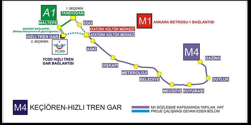 Keçiören Metrosu açılışında Başbakan Yıldırım'ın önemli açıklamaları