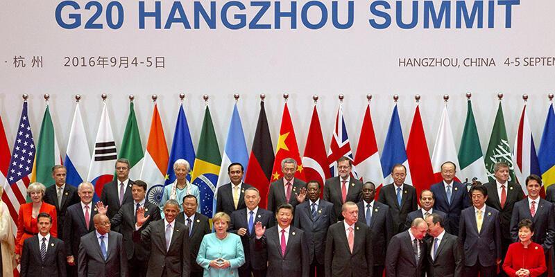 G20 Liderler Zirvesi Çin'de başladı