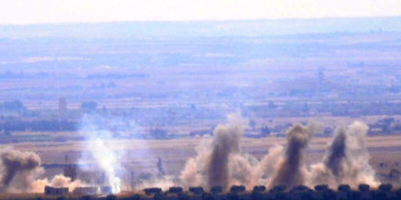TSK: 163 hedef vuruldu, 14 DEAŞ'lı etkisiz hale getirildi