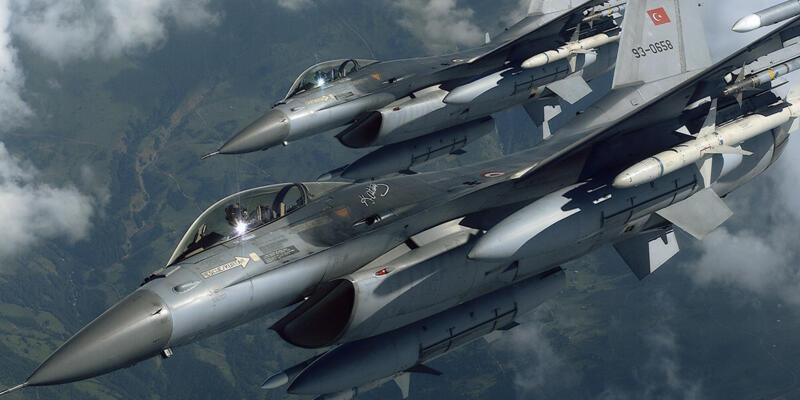 İHA tespit etti, F- 16'lar vurdu