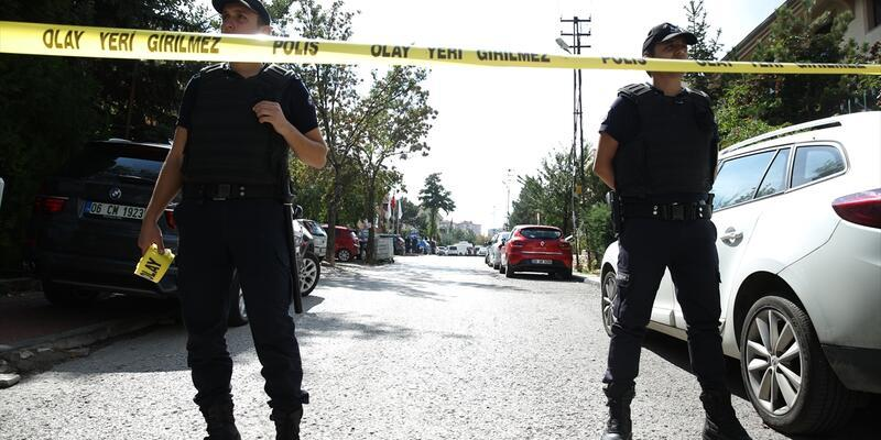 İsrail Büyükelçiliği önünde bıçaklı saldırı girişimi