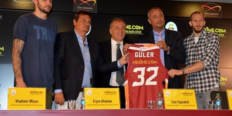 Galatasaray Odeabank'a yeni forma sponsoru