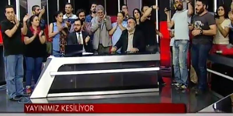 İMC TV'nin ve Özgür Radyo'nun yayını polis baskınıyla sonlandırıldı