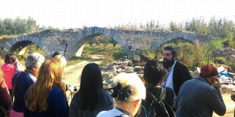 Roma dönemi köprüsü molozlar içinde