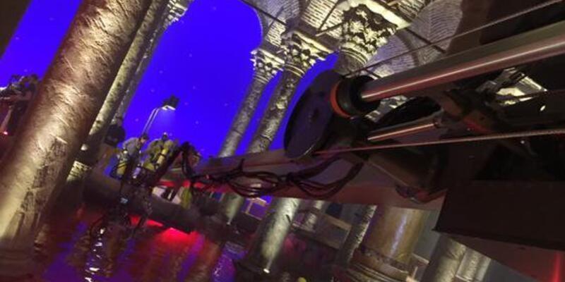 İşte Dan Brown'ın 'Cehennem'inin çekildiği çakma Yerebatan Sarnıcı