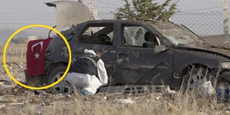 Ankara'da iki canlı bomba operasyonda kendini patlattı