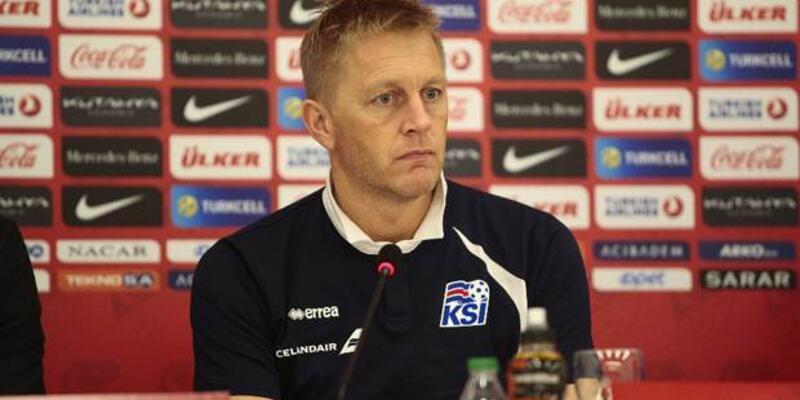 Halgrimsson: Türkiye maçı hiç kolay olmayacak