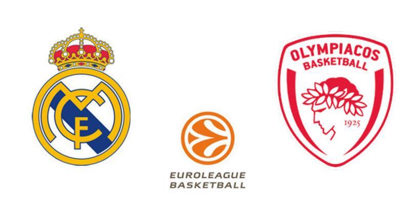 Euroleague Real Madrid - Olympiakos maçıyla start alıyor