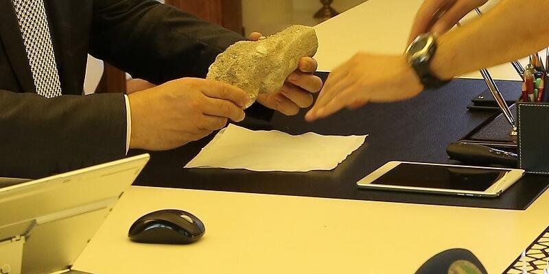 Kayseri'de 9 milyon yıllık fosil bulundu