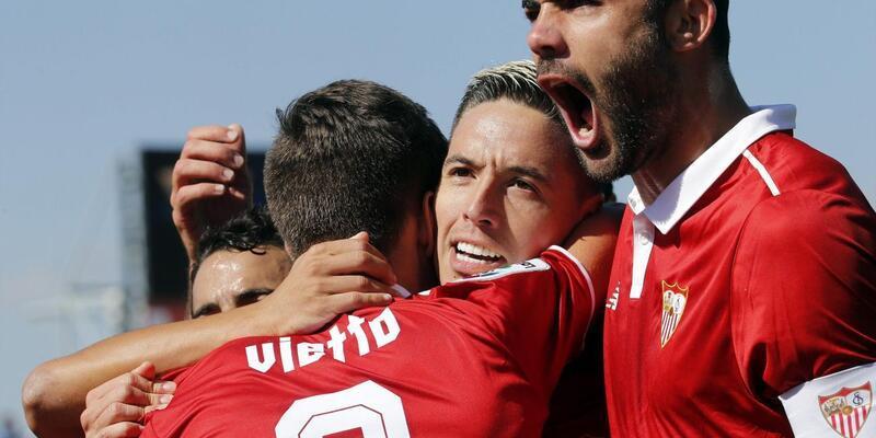 Nasri gol attı, Sevilla'nın hasreti dindi
