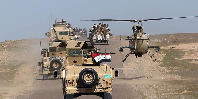 Musul'u DEAŞ'tan kurtarma operasyonu başladı: ABD topçusu hedefleri vuruyor