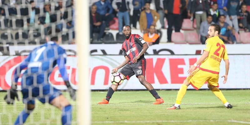 Dönüşü muhteşem oldu... Gaziantepspor - Kayserispor: 1-2