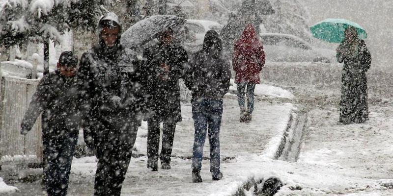 Meteorolojiden 5 il için kar ve soğuk hava uyarısı