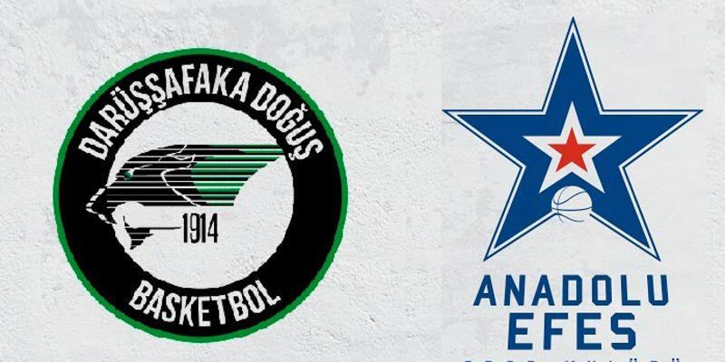 Darüşşafaka Doğuş-Anadolu Efes maçı saat kaçta hangi kanalda?