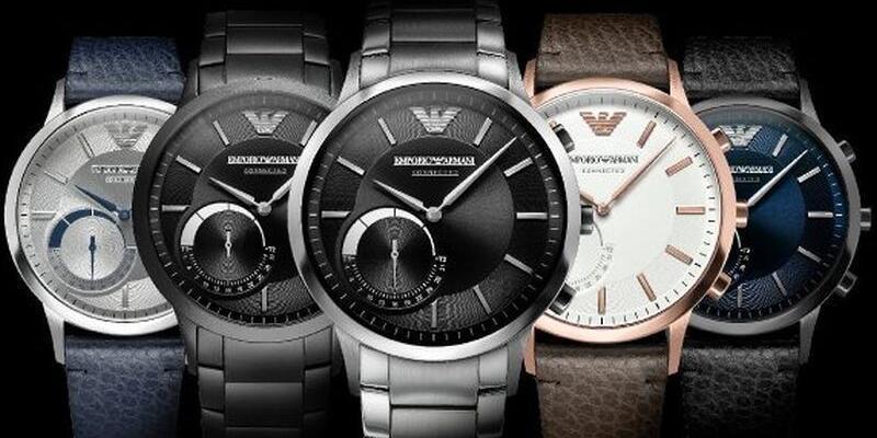Emporio Armani Connected: Yeni hibrit akıllı saat!