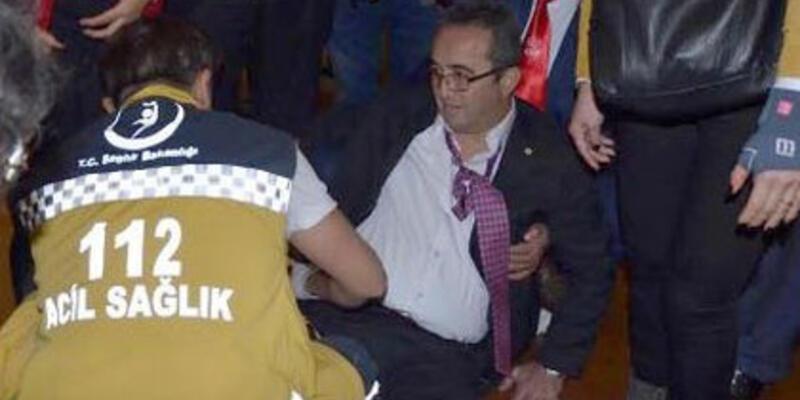Erdoğan'dan Tezcan'a geçmiş olsun telefonu
